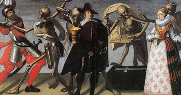 16th or 17th century painting of the 'Dance of Death.' (Public Domain)The living weren't always as scared of the dead.