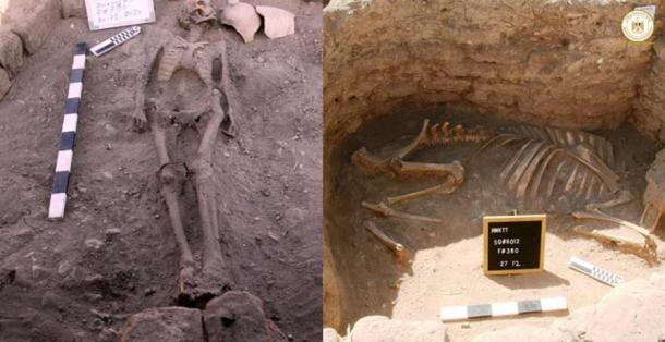 Archaeologists are puzzled by strange burials at the Lost Golden City. (Zahi Hawass Center For Egyptology/Ministry of Tourism and Antiquities)