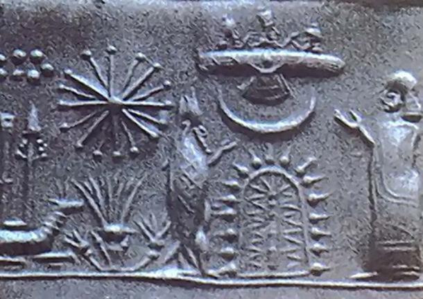 1st Millennium Mesopotamian/Sumerian cylinder seal.