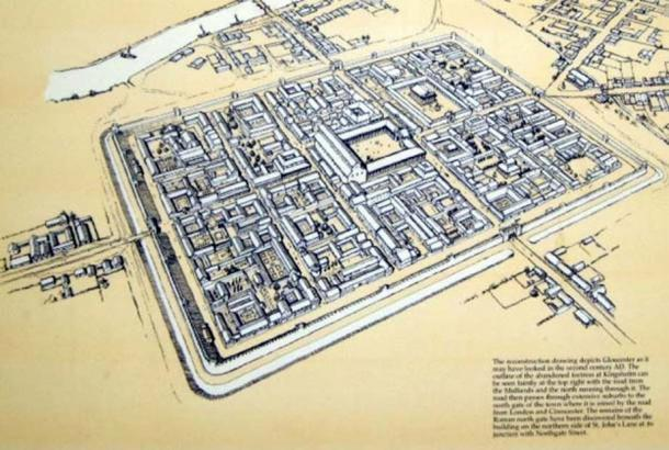 Visualization of 2nd century Gloucester by Philip Moss