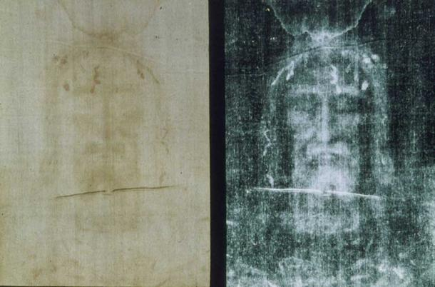 3-Dimensional image of a male face that is imprinted on the shroud.