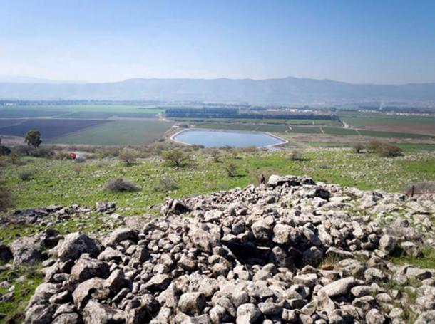 The 4,000-year-old dolmen.