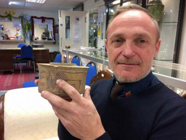 4,000-year-old ancient antiquity found at a car-boot sale, recently sold at auctioneers. (Hansons Auctioneers / Hansons)