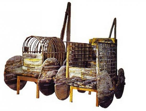 A 4000 year old wagon found at Lchashen Settlement (Armenian Heritage)