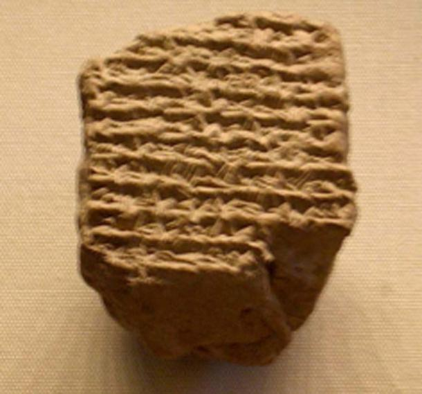 A Babylonian astronomical diary recording the death of Alexander the Great. (Bucephala / Public Domain)