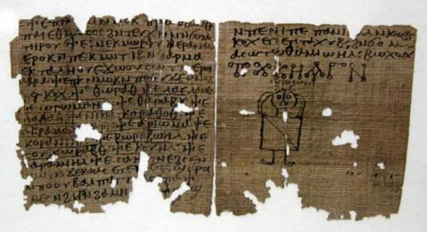 A Coptic codex with magic spells (fifth to sixth century AD), similar to the 'Handbook of Ritual Power'
