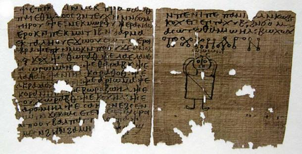 A Coptic codex with magic spells, 5-6th century AD from the Museo Archeologico, Milan. (CC by SA 3.0)