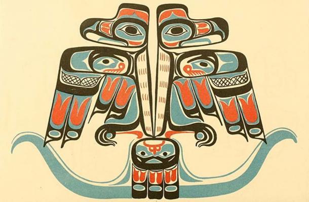 A Haida double Thunderbird. (The Commons)