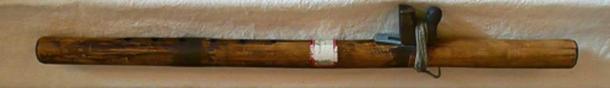A Ho-Chunk courting flute (CC BY-SA 3.0)