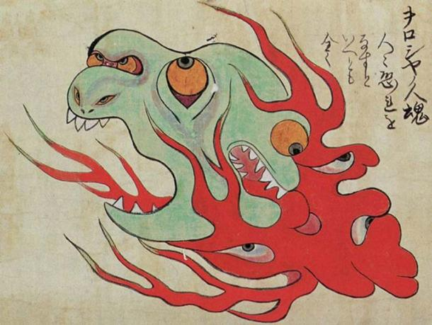 A Japanese rendition of a Will-o'-the-wisp of Russia.