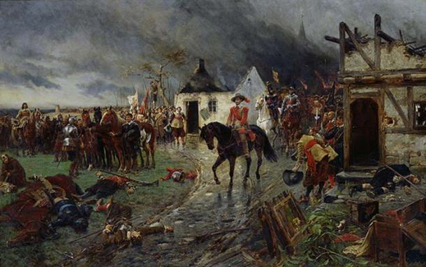A Scene of the Thirty Years War