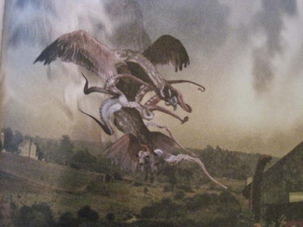 A Snallygaster. (Gettysburg Ghosts)