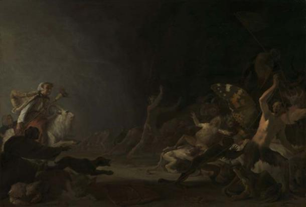 'A Witches' Sabbath' by Saftleven, ca. 1650. (Public Domain)