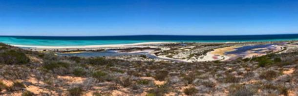A colorful panorama of Dirk Hartog Island, Western Australia. (CC BY NC 2.0)