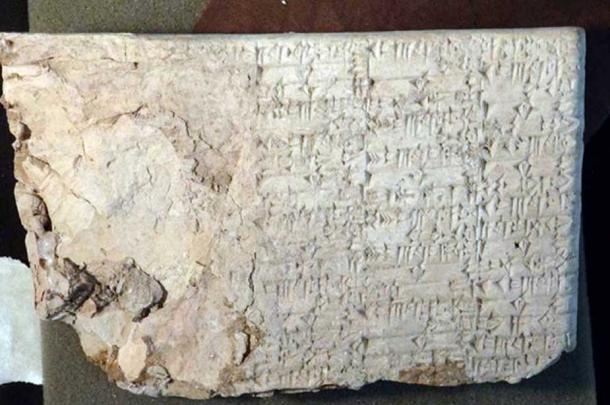 A cuneiform tablet seized by U.S. Immigration and Customs Enforcement (ICE) from Hobby Lobby. (U.S. Attorney's Office Eastern District of New York)