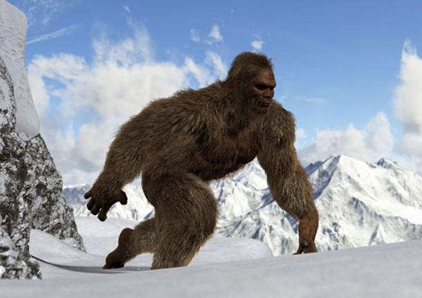 A depiction of a Yeti (Riko Best / Adobe Stock)