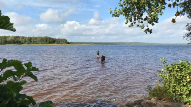 Pre-Viking-era sword discovered by girl paddling in Sweden lake