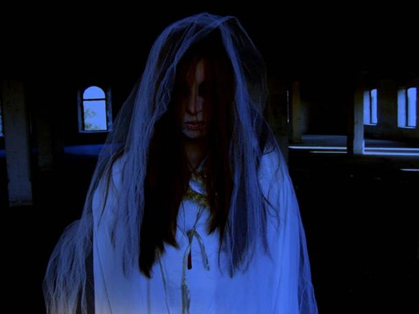 A ghost bride, like the White Lady of Kinsale. (Pixabay License)
