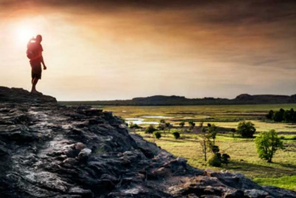 A hiker looks over Kakadu National Park. Source: Photography by APD / Fotolia