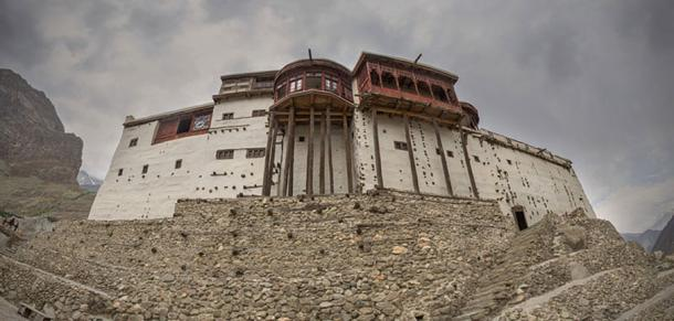 A panoramic view of Baltit Fort. (CC BY-SA 3.0)
