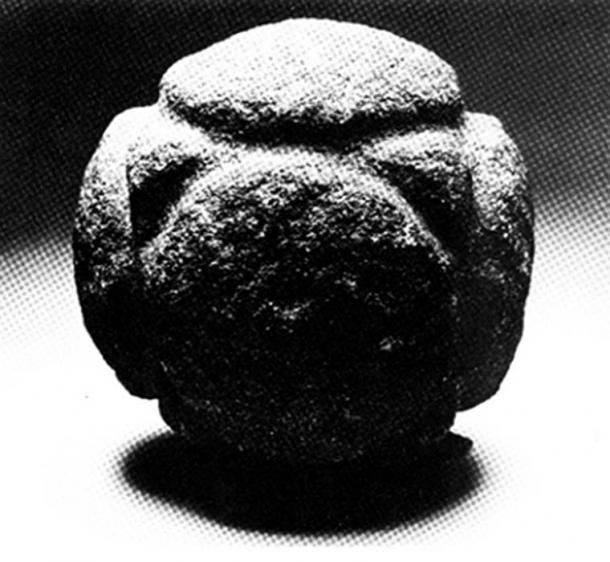 Figure 9. A stone cube-octahedron