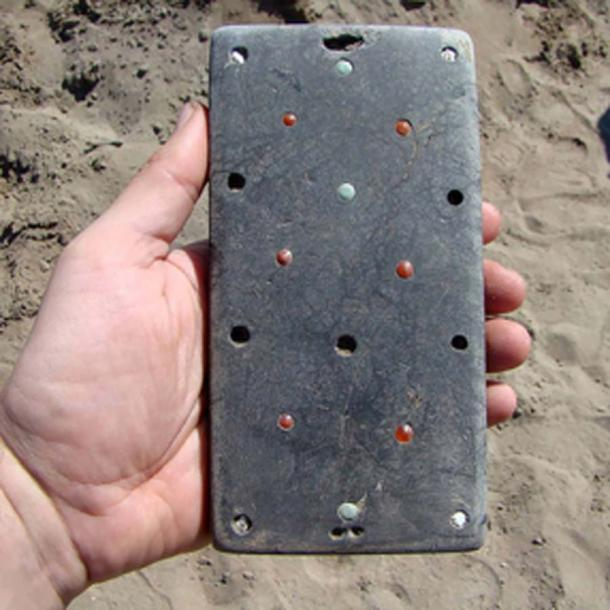 A stunning find which archeologists jokingly named 'Natasha's iPhone'. Pictures: HMC RAS/Pavel Leus