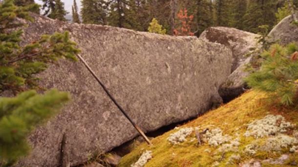A super Siberian megalith. (Georgy Sidorov)