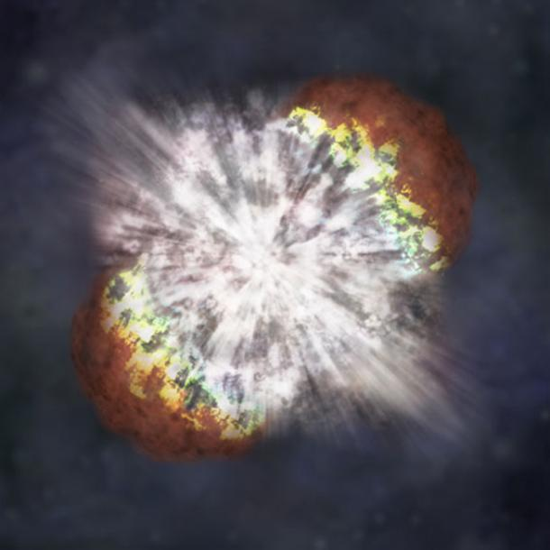 A supernova. (NASA)