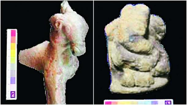 A terracotta toy bull and a Ganesh idol were found at Nagardhan. (Image: dnaindia)