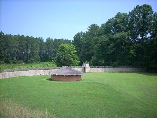 A view of Town Creek Indian Mound in Montgomery County, North Carolina. (Dincher/CC BY SA 3.0)
