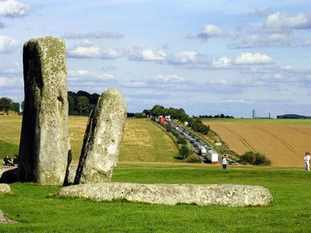 A303 passing close to Stonehenge.