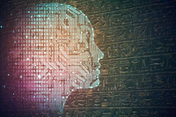 AI (peshkova /Adobe Stock) may be the key to deciphering ancient languages. (alagunasr /Adobe Stock)