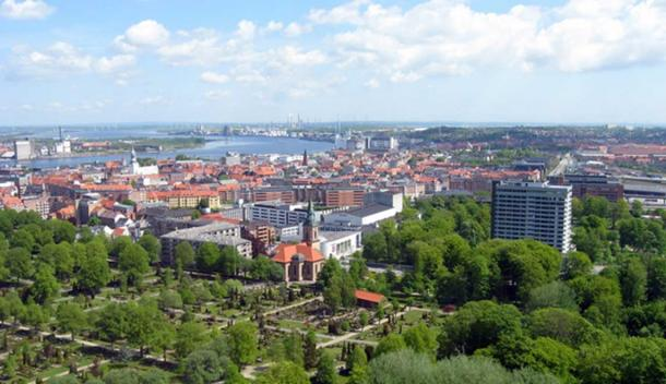 Aalborg is now a modern city