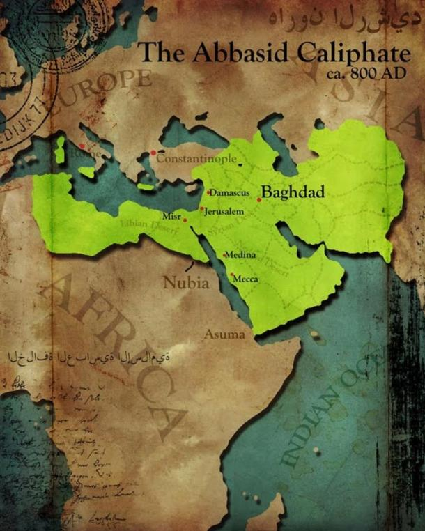 The Round City was the heart of the Abbasid Caliphate