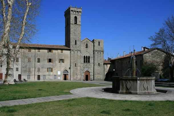 Abbey of San Salvatore, Tuscany.