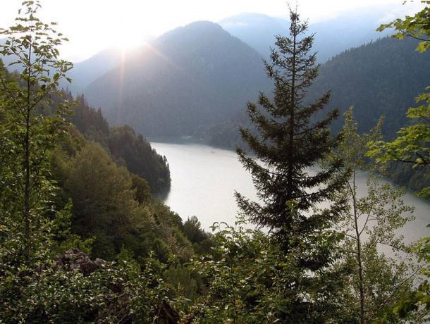 The beautiful but remote mountainous terrain of Abkhazia where Zana was found.