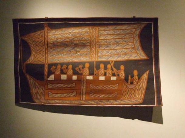 Aboriginal art, Adelaide Museum, Australia. (CC0)