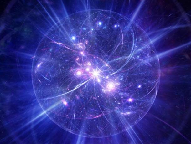 Abstract model of the Big Bang