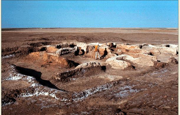 Abu Salabikh, where the oldest surviving pieces of literature were found.