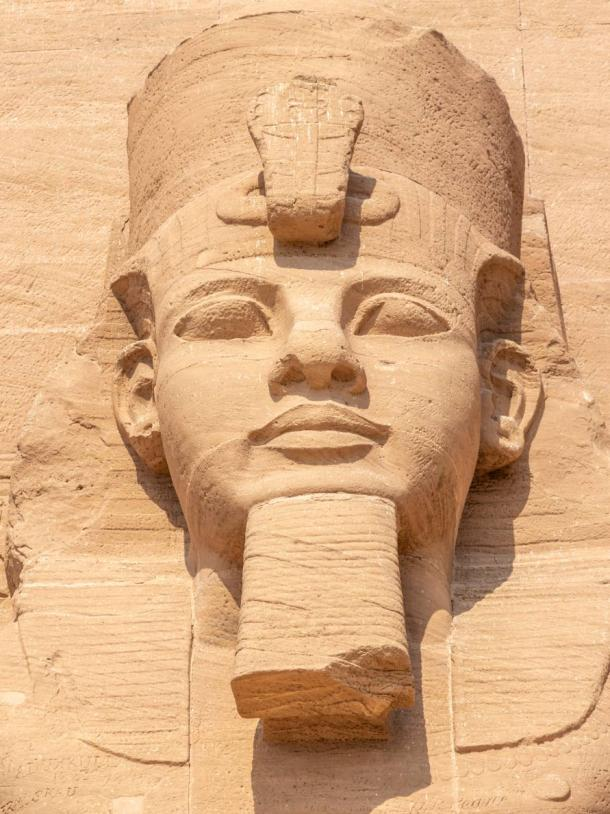 Abu Simbel, the Great Temple of Ramesses II, Egypt