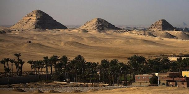 The Abusir necropolis