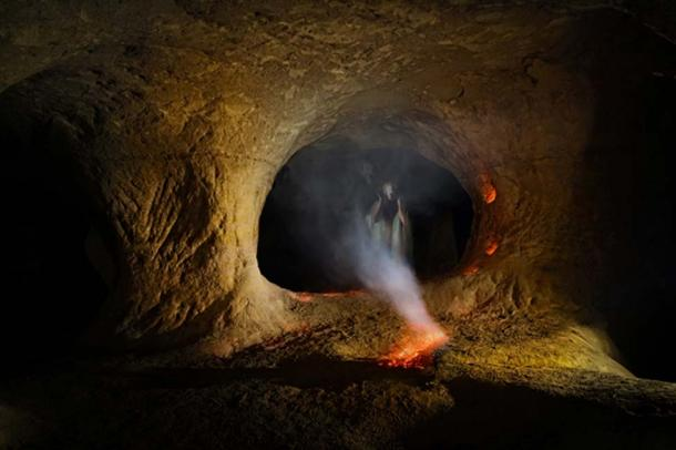 According to local folklore the cave was a place that was long associated with black magic and sorcery. (Fotofrank / Adobe)