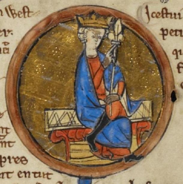 According to the historical record, London fell to the Wessex King Ecgberht (pictured) as a result of the outcome of the Battle of Ellendun in 825 AD. However, Mr Hall's Saxon coin proves that Mercia still retained London in 826 AD. (Public domain)