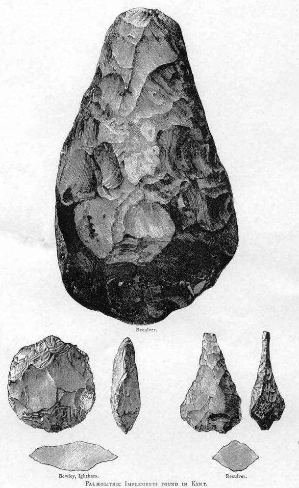 Acheulean hand axes