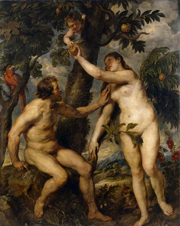 Adam and Eve by Peter Paul Rubens, 1628