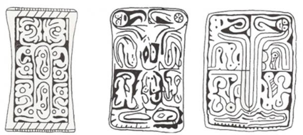 Adena Cincinnati, Lakin A, Meigs, and Wilmington tablets. (Caldwell, 1997)