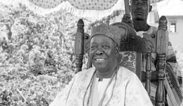 Adesoji Aderemi, the 49th ruler of Ife