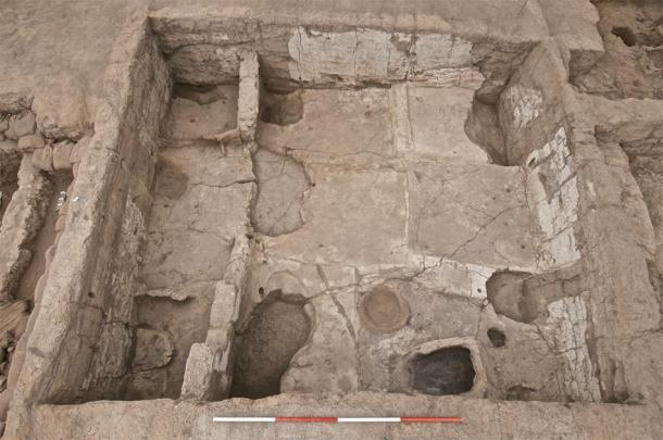 Aerial shot from one of the Neolithic homes in the ancient city of Çatalhöyük. (Çatalhöyük Research Project / CC BY-NC-SA 2.0)