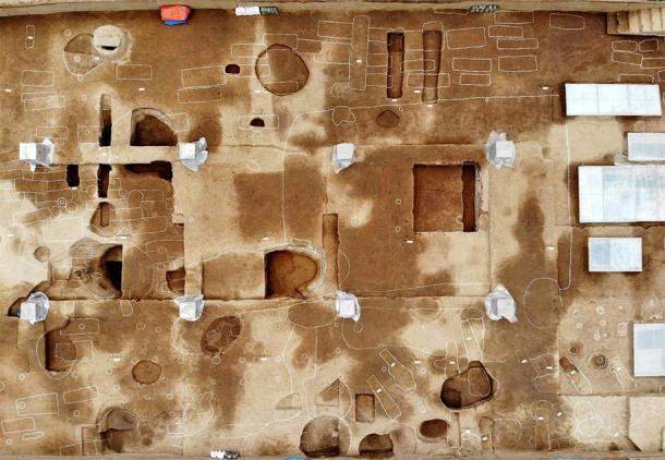Aerial of part of the ancient Chinese city. Image: Xinhua / SCIO)