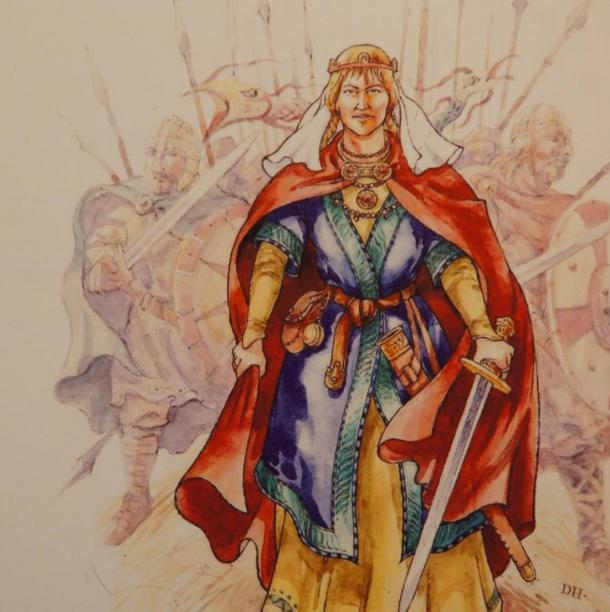 Æthelflæd -Lady of the Mercians